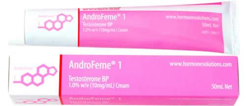 AndroFeme® 1% Testosterone cream